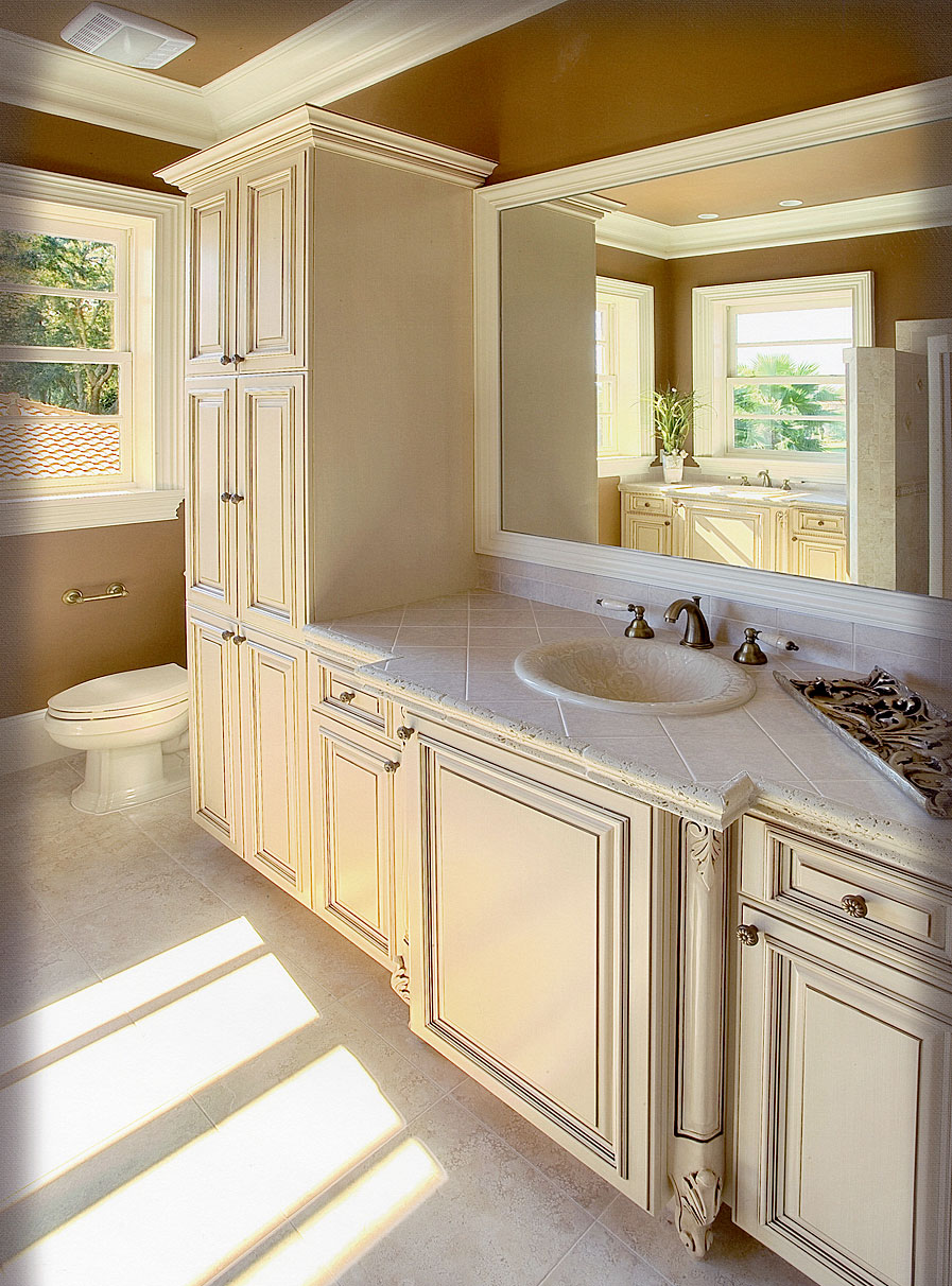 Elegant bathroom remodel in Jacksonville FL, Orange Park ...