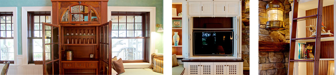 High quality cabinetry for a entertainment room in - Kitchen design gallery jacksonville fl ...